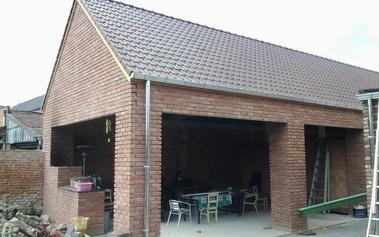 Ig Dak - Realisaties - Renovatie - garage Lochtstraat Bilzen