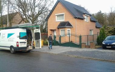 IG DAK - Realisaties - Renovatie eengezinswoning - Schaapsdreef Genk